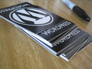 WordPress swag, de Elea Chang, en Flickr