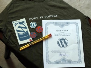 One of the three most important people in WordPress, por Kenn Wilson, en Flickr