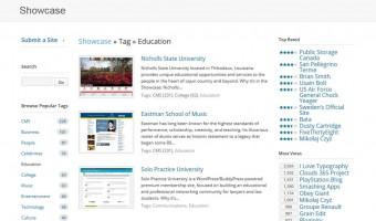 Sitios web educativos realizados con WordPress