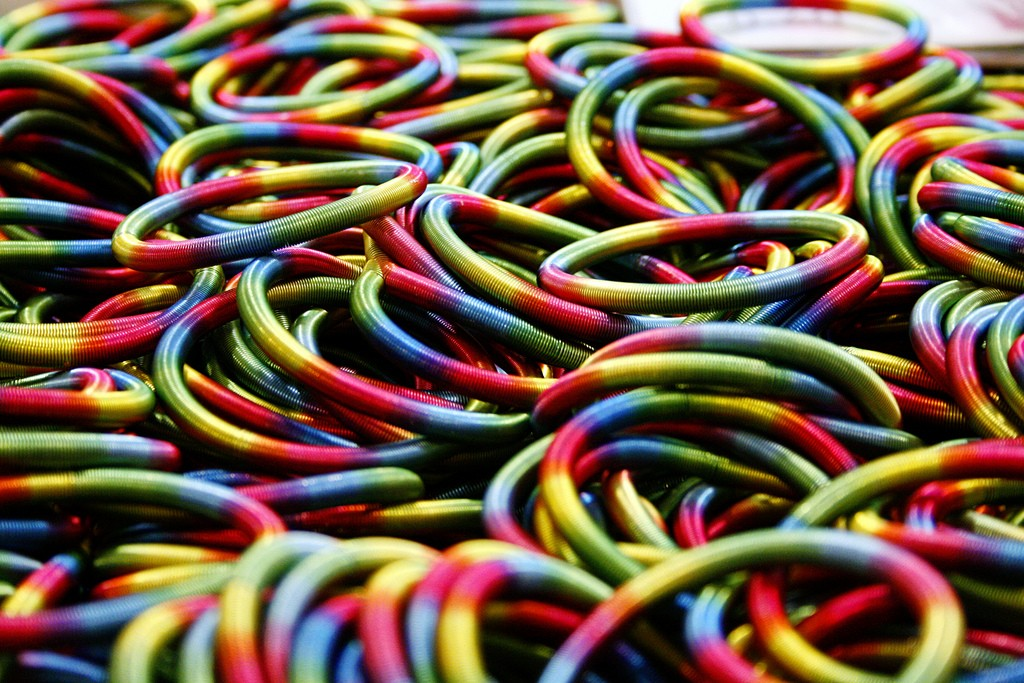 Multi-coloured swapshop, de @Doug88888, en Flickr