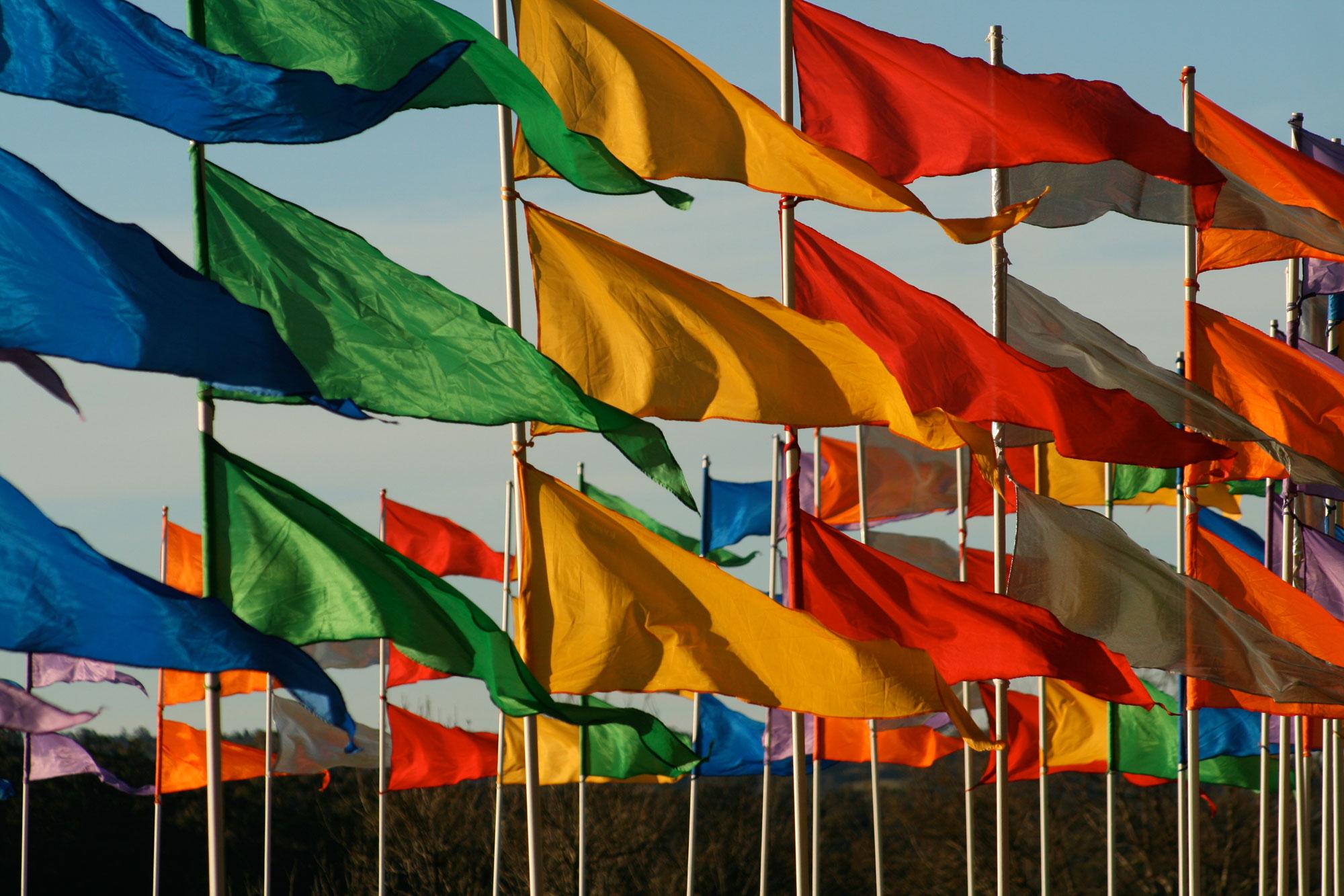 Banderas (fotografía tomada de Unsplash)