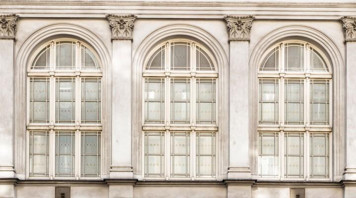 Ventanas y columnas