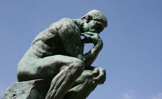El pensador, de Rodin