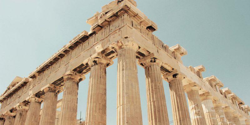 Columnas del Partenón de Atenas