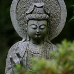 Buda en un parque de Funchal