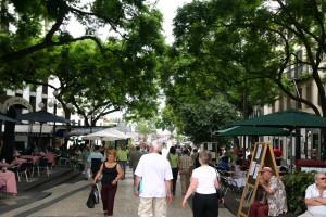 Una calle de Funchal